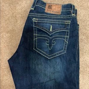 MENS ROCK REVIVAL JEANS SIZE 40 straight NEW